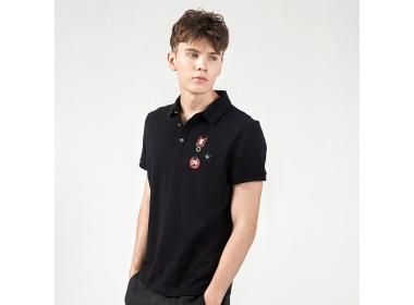 21SS Man's Slim Causal Polo: How to wear slim Polo shirt