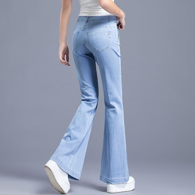 jeans évasés femme